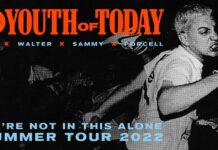 Youth Of Today - Tour 2022