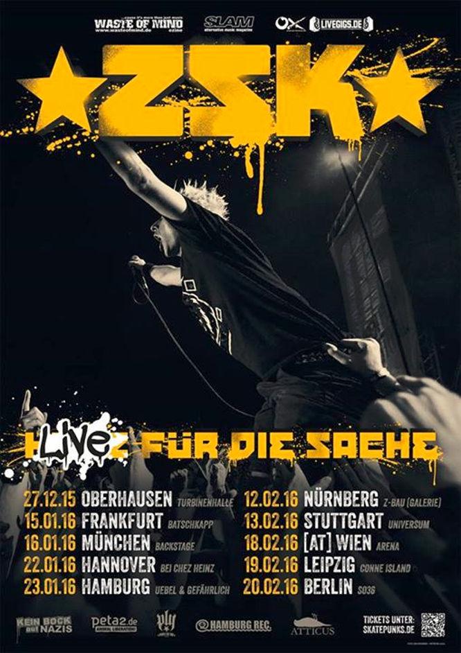 ZSK - Live Für Die Sache - Tour 2016