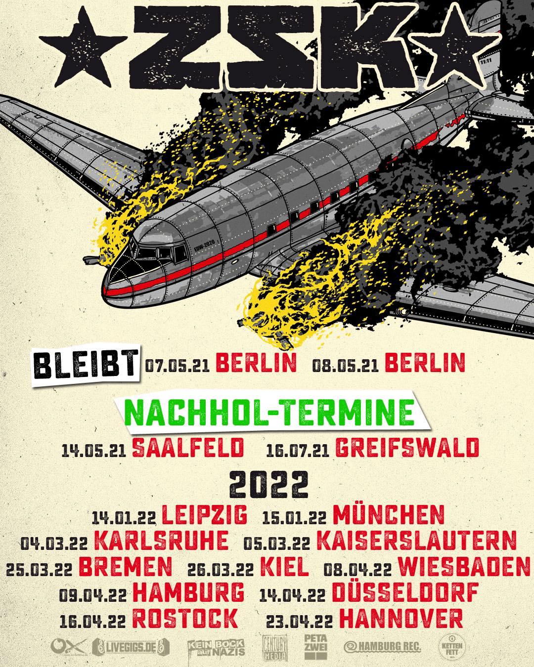 ZSK - Ende der Welt-Tour