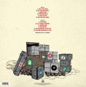 ZSK - Ende der Welt (2021, Back-Cover)