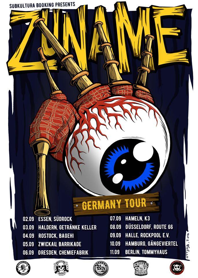 Zuname - Deutschlandtour 2016