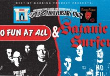 No Fun At All & Satanic Surfers - 25 Years Anniversary Tour 2020