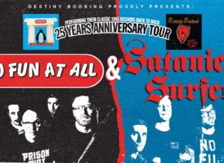 No Fun At All & Satanic Surfers - 25 Years Anniversary Tour 2020