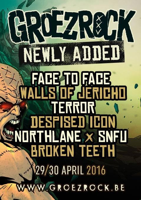 groezrock 2016 - next bands
