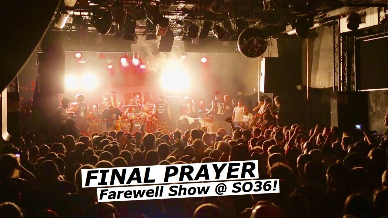 Final Prayer Full Set Abschiedsshow Away From Life