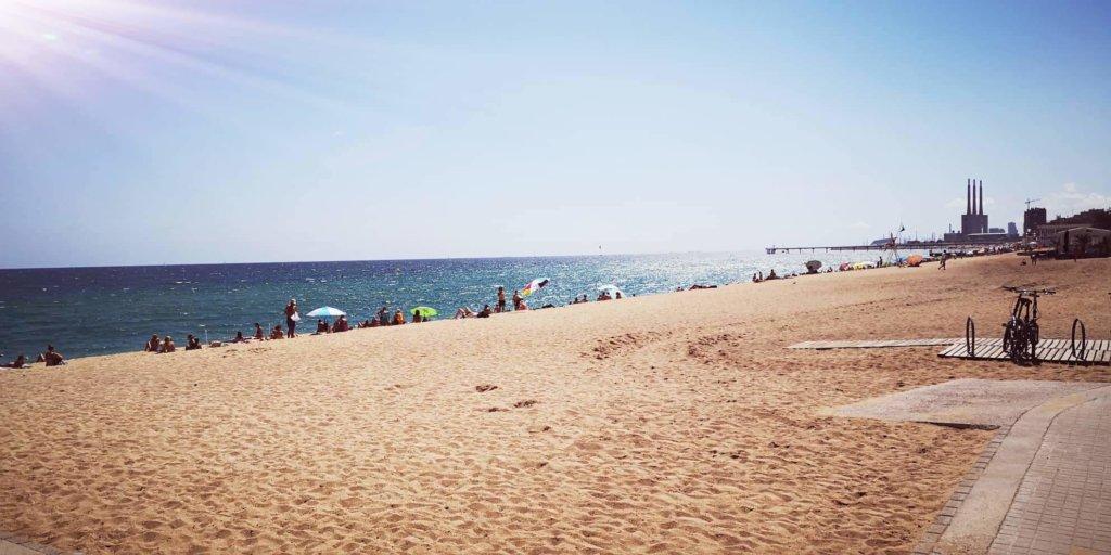 Strand von Badalona