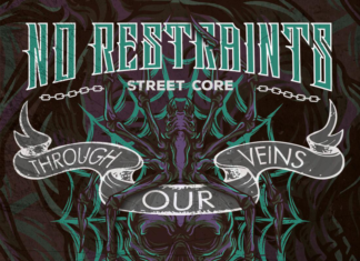 No Restraints / Spider Crew - Through Our Veins (2020)