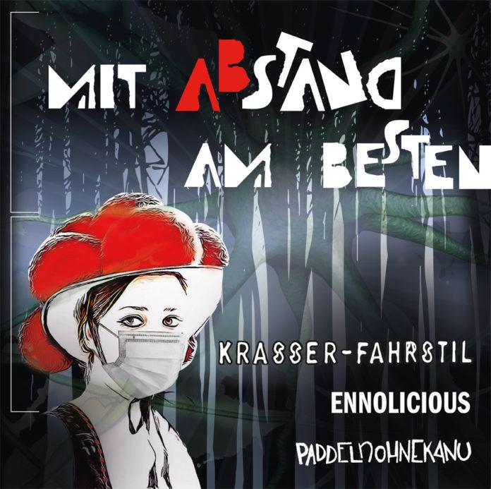 Mit Abstand am Besten - Krasser-Fahrstil, Ennolicious, Paddelnohnekanu split cover
